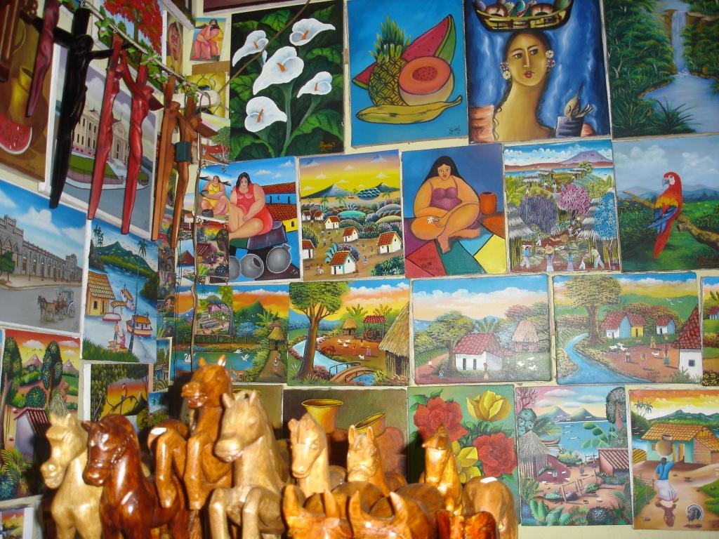 Artesanía de Nicaragua, Flickr. CC BY ND NC.